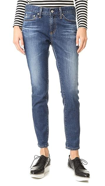 AG The Beau Slouchy Skinny Jeans