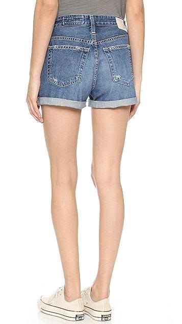 AG Alex Vintage Boyfriend Shorts