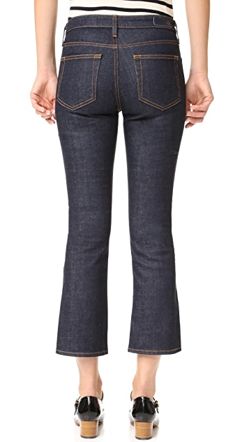 AG The Jodi Crop Side Slit Jeans