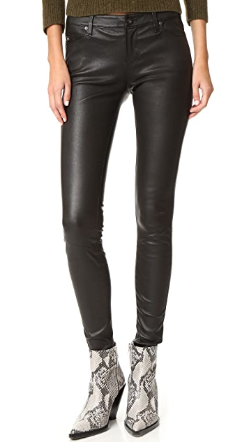 AG The Leather Legging Jeans