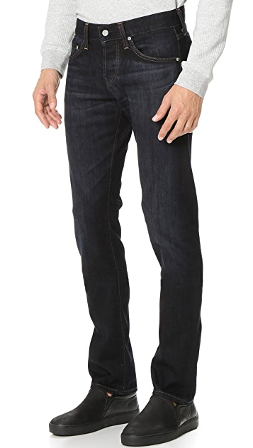 AG The Matchbox Stretch Selvedge Slim Straight Jeans