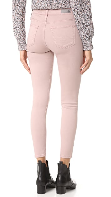 AG The Farrah Skinny Crop Jeans