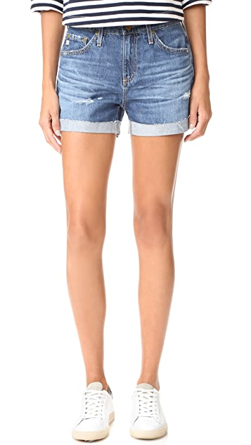AG The Hailey Slouchy Shorts