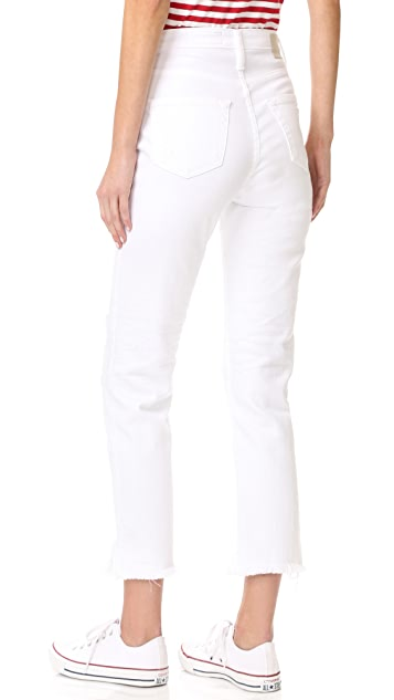 AG The Phoebe High Waisted Tapered Jeans