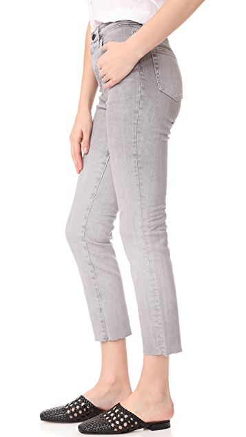 AG The Isabelle Straight Crop Jeans