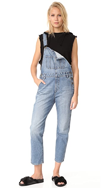 huge inventory boy durable service The Leah Led Overalls