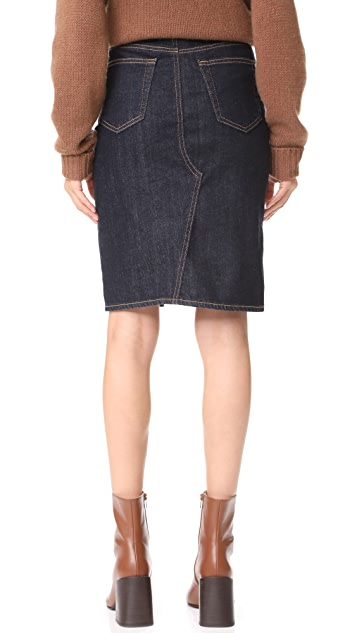 AG Emery High Waisted Pencil Skirt