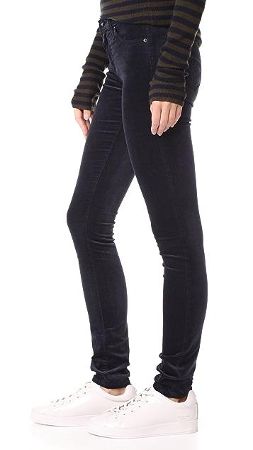 AG Velvet Legging Jeans