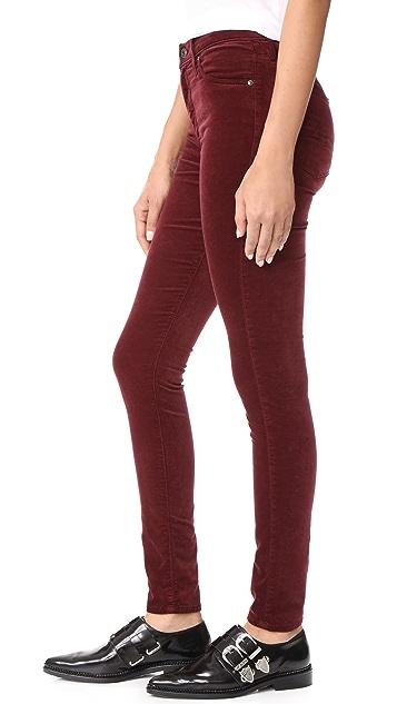 AG The Velvet Farrah Skinny Jeans
