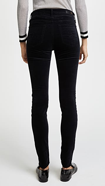 AG Farrah 紧身丝绒裤