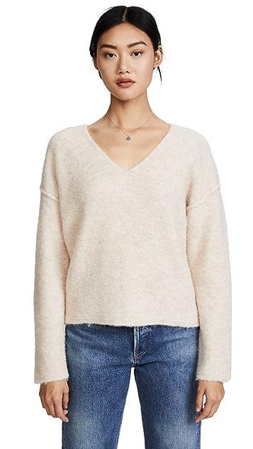 AG Skye V Neck Sweater