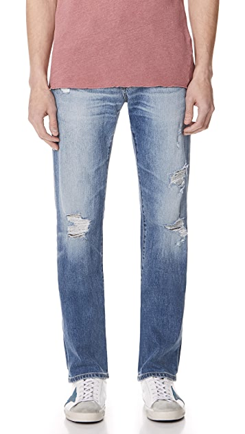 AG Blue Isle Matchbox Denim Jeans