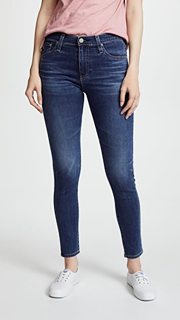 ad29462ff154 AG The Farrah Ankle Skinny Jeans