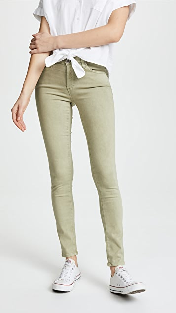 AG The Prima Sateen Jeans - Sulfur Dry Cypress
