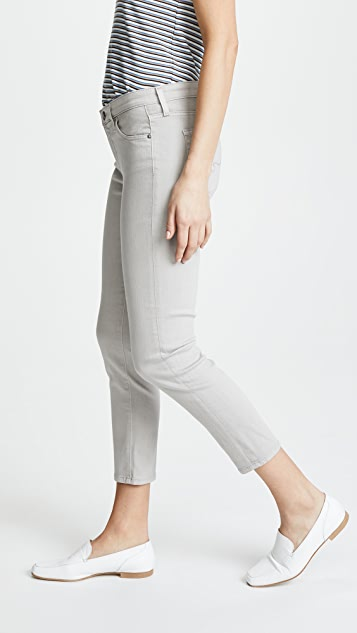 AG The Prima Crop Sateen Jeans