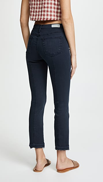 AG The Jodi Crop Sateen Jeans