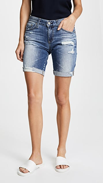 AG The Nikki Shorts - 16 Years Indigo Deluge