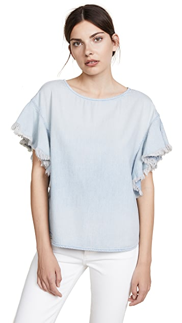 AG Shannon Chambray Top