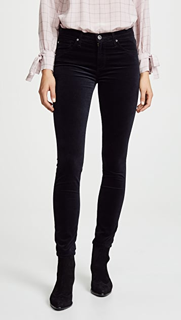 AG The Velvet Legging Ankle Skinny Jeans