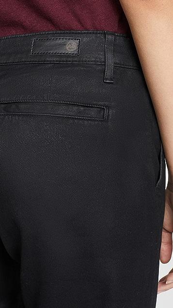 AG 复古人造革 Caden 裤子