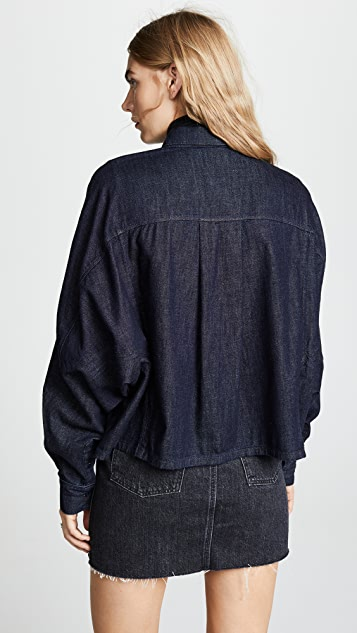 AG Acoustic Dolman Button Up