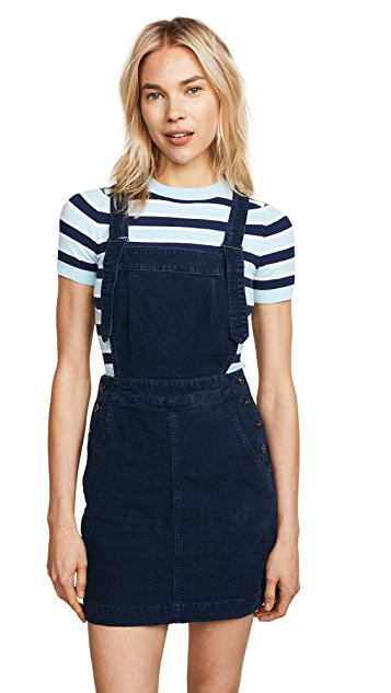 AG Jacs Corduroy Overall Pinafore Dress