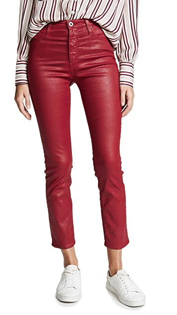 AG The Leatherette Isabelle Jeans
