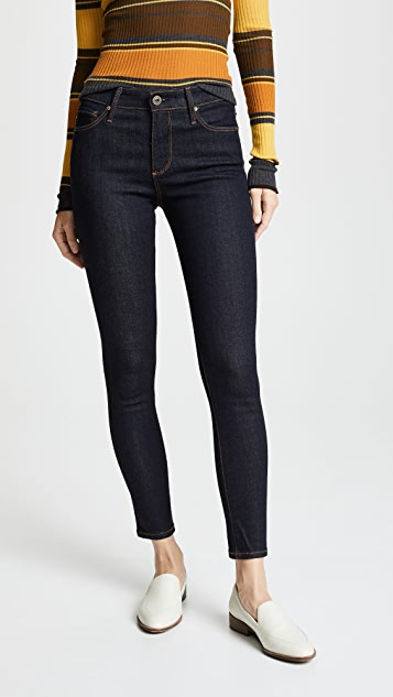 AG The Farrah Skinny Ankle Jeans - Admiral Blue