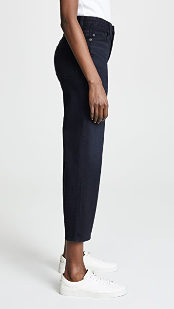 AG Etta High Waisted Cropped Jeans