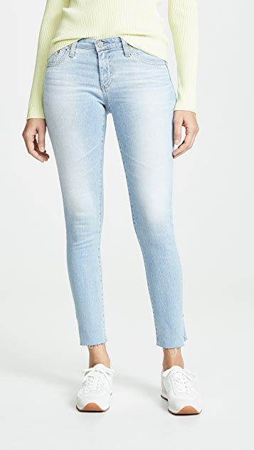 AG The Legging Ankle Jeans - 27 Years Aversion
