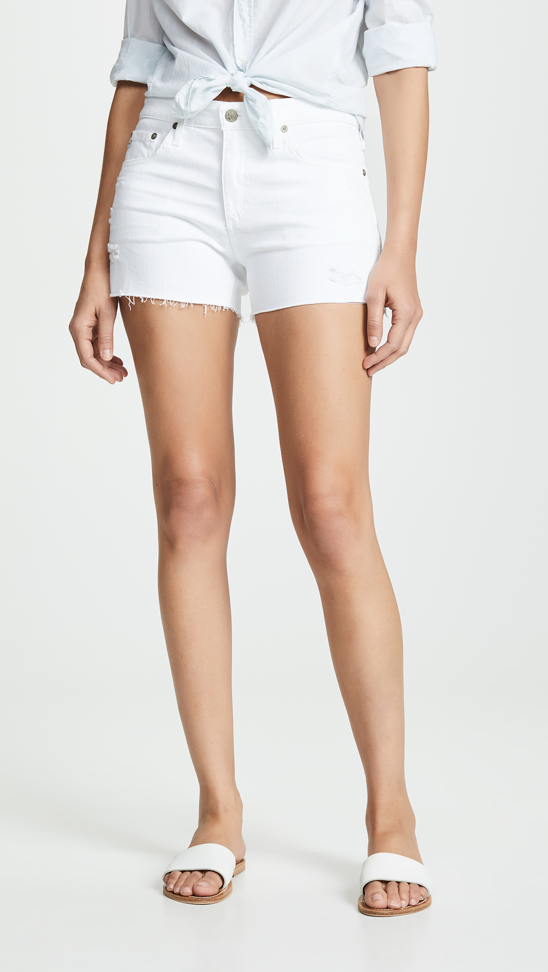 AG The Hailey Cutoff Shorts