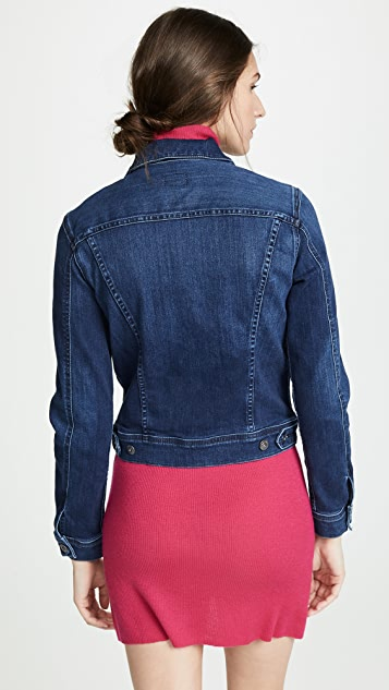 AG Fitted Denim Jacket