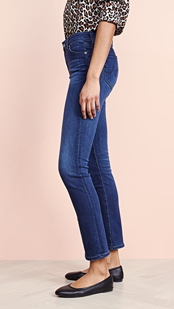 AG The Mari High Rise Slim Straight Jeans