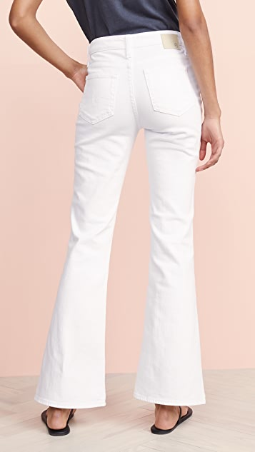 AG The Quinne High Rise Flare Jeans