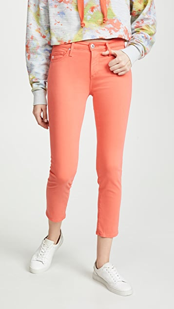 AG The Prima Crop Jeans - Faded Azelea