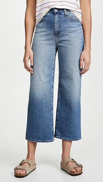 AG Etta Wide Leg Crop Jeans - Living Proof
