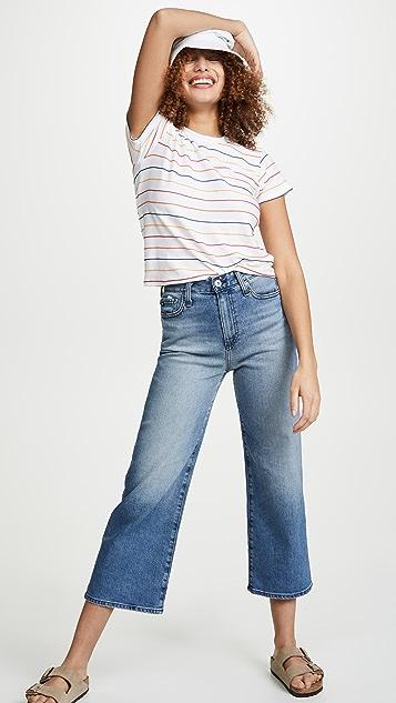 AG Etta Wide Leg Crop Jeans