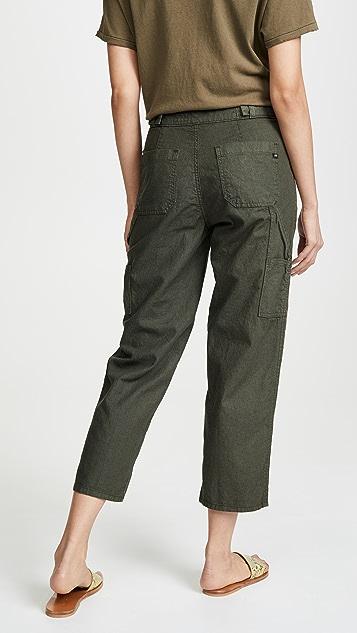 AG Noten Carpenter High Rise Ankle Jeans