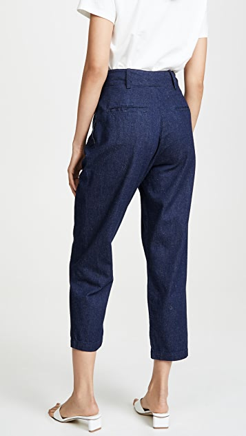 AG Yasmeen Pleated Trousers