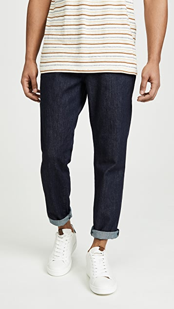AG Payton Cropped Denim Chino Pants