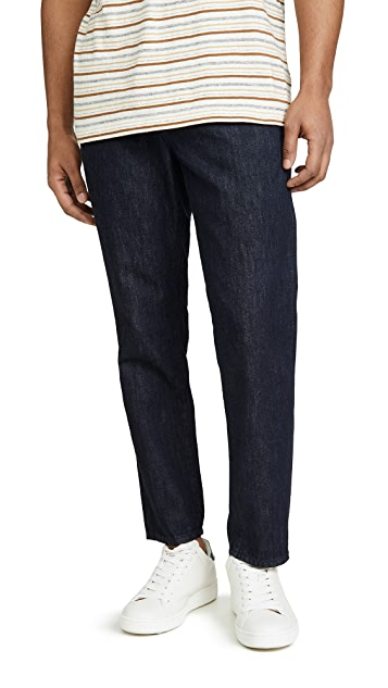 AG Payton Cropped Denim Chino Pants