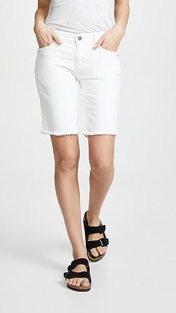 AG Nikki Shorts - White