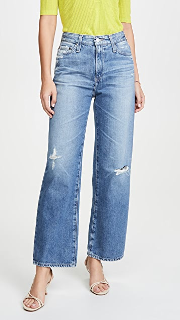 AG The Tomas High Rise Baggy Straight Jeans