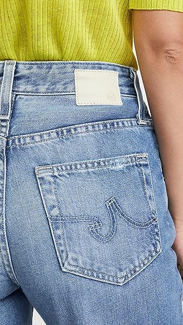 AG Свободные прямые джинсы Tomas с высокой посадкой
