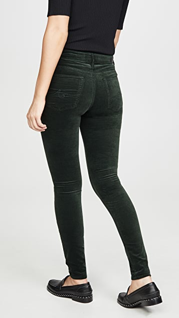 AG The Farrah Velvet Skinny Pants
