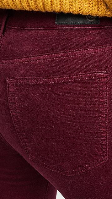 AG The Jodi Velvet Crop Pants