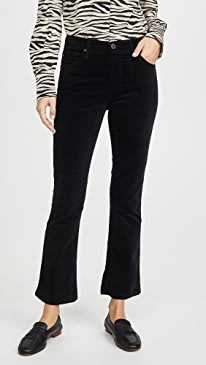 The Jodi Velvet Crop Pants