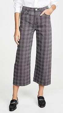 The Etta Boundless Wide Leg Crop Pants