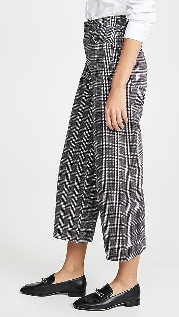 AG Широкие укороченные брюки Etta Boundless