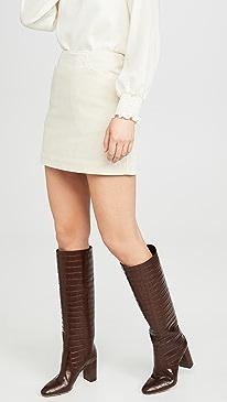 The Bernadette Vintage Straight Skirt